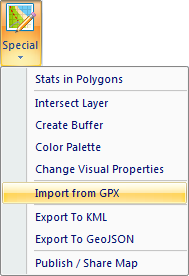 GIS XL | GPX Files in Excel