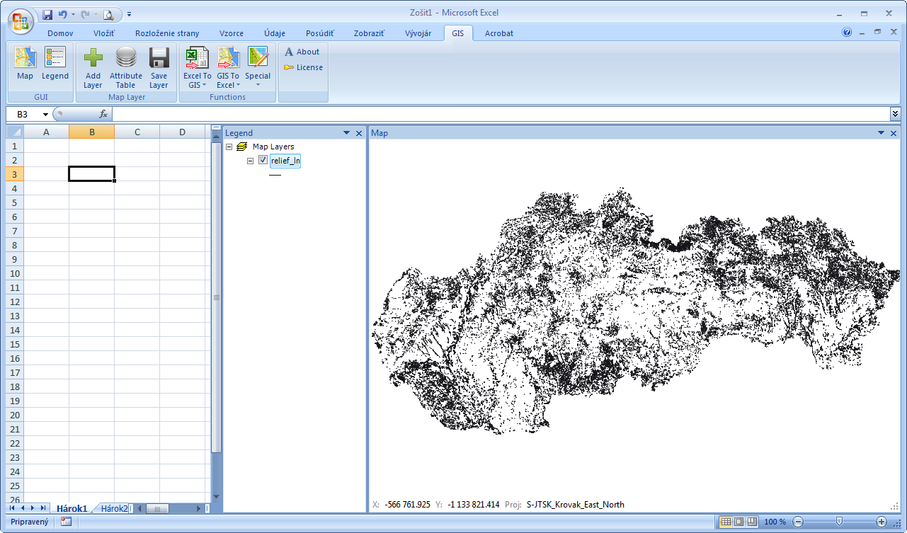 GIS XL | FAQ: How to Export Large Shapefiles to Excel